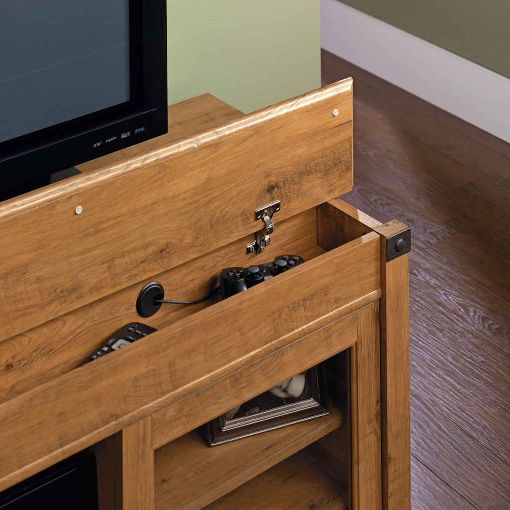 Sauder Registry Row Chest Brown