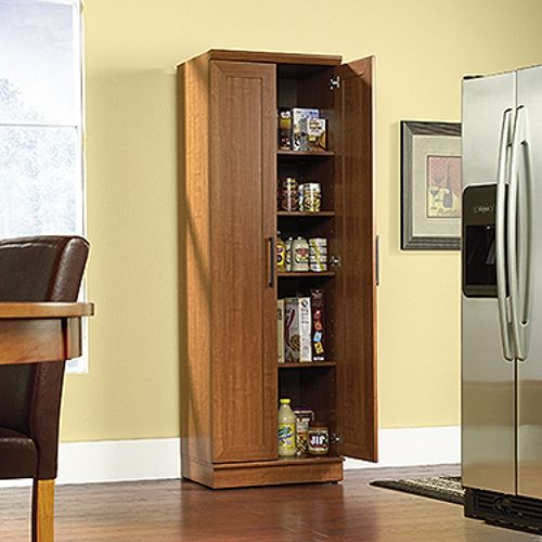 Sauder Home Plus Storage Plus Cabinet Brown