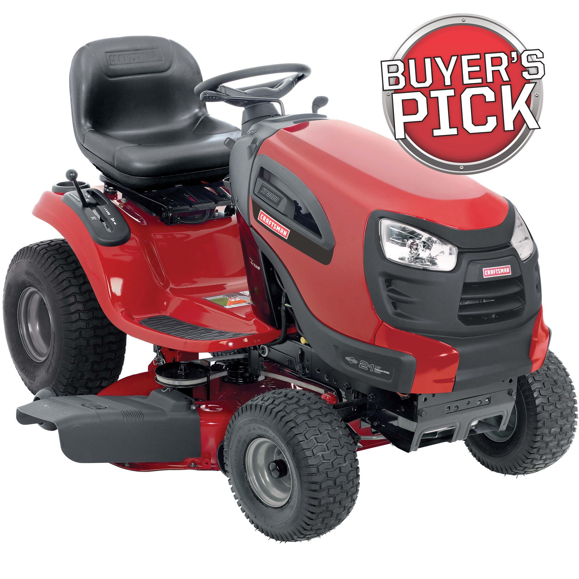 Craftsman 42 In. 21Hp Briggs & Stratton Hydrostatic Turn Tight Yard Tractor Non CA
