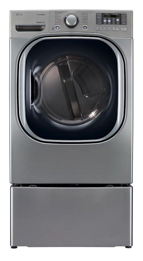 LG 7.4 cu. ft. Steam Gas Dryer - Graphite