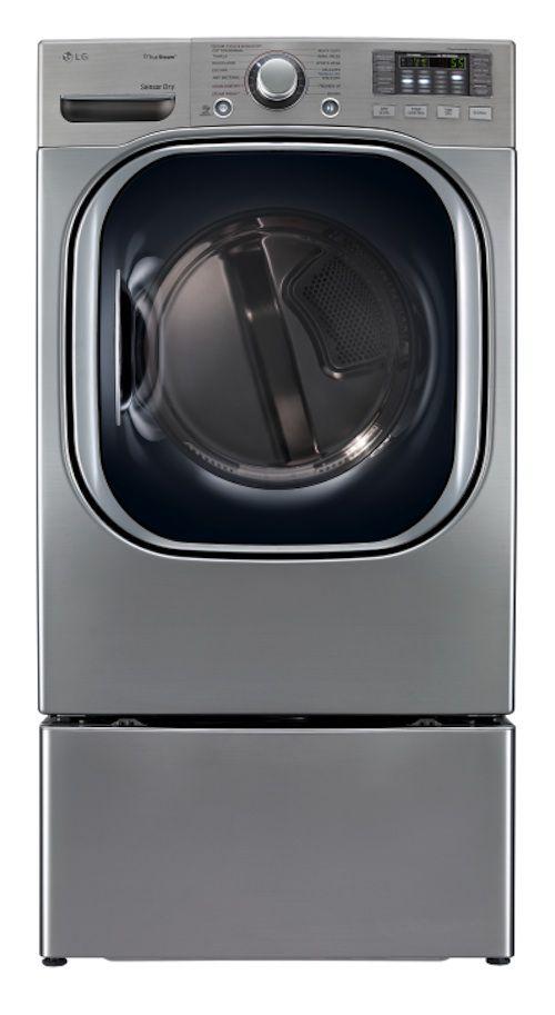 LG 7.4 cu. ft. Steam Electric Dryer - Graphite