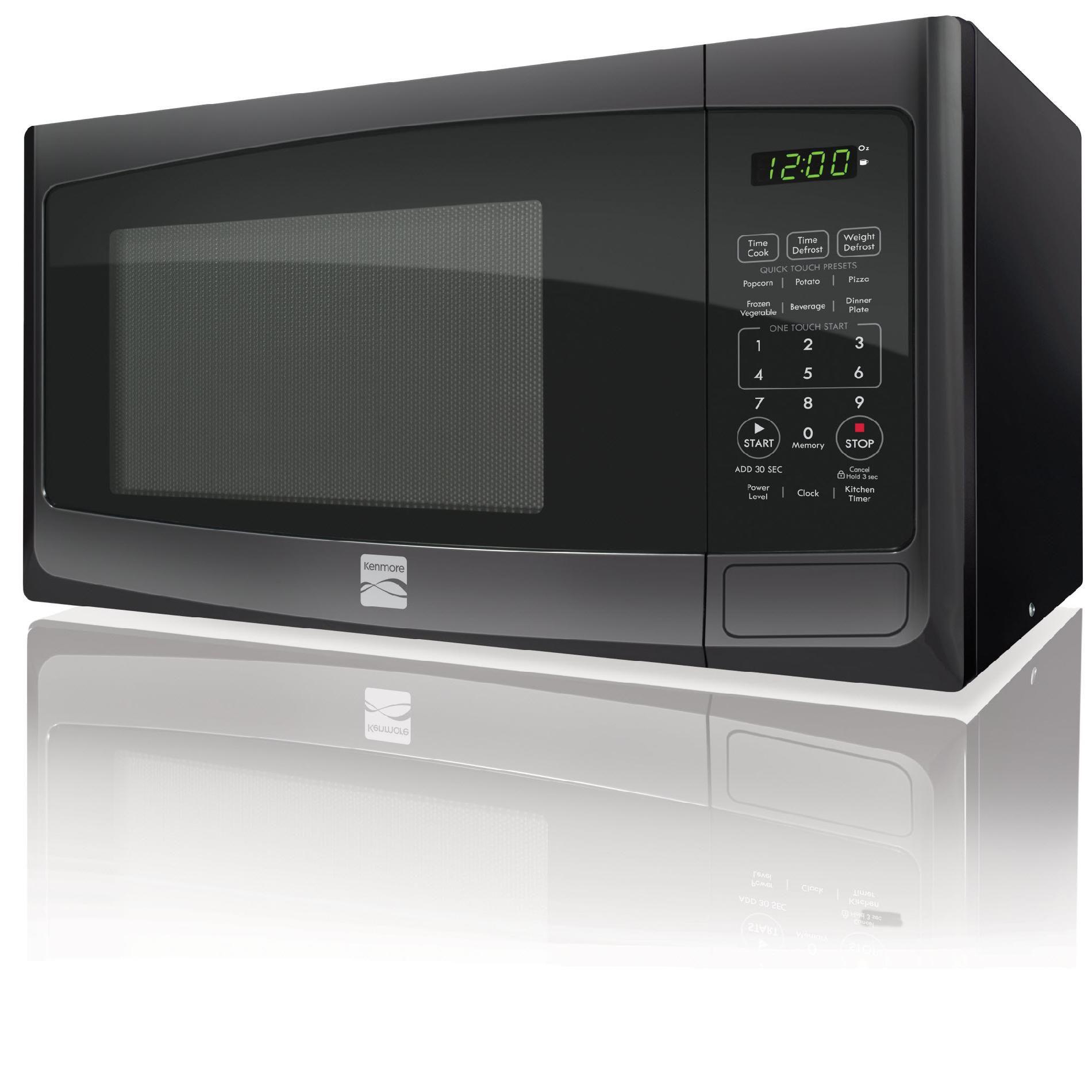 Kenmore 73099 0.9 Cu. Ft. Countertop Microwave - Black