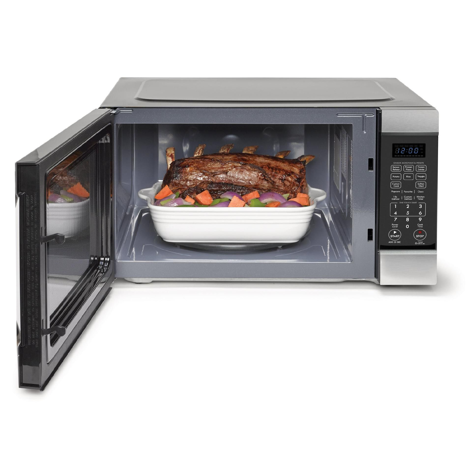 Kenmore Elite 2.2 cu. ft. Countertop Microwave w/ Extra-Large Capacity - Stainless Steel