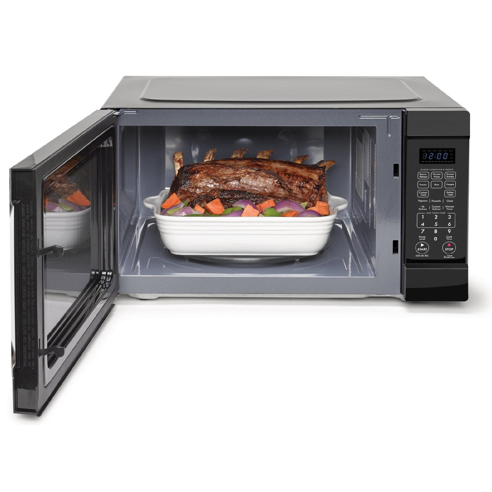 Kenmore Elite 74229 2.2 cu. ft. Countertop Microwave  w/ Extra-Large Capacity  - Black