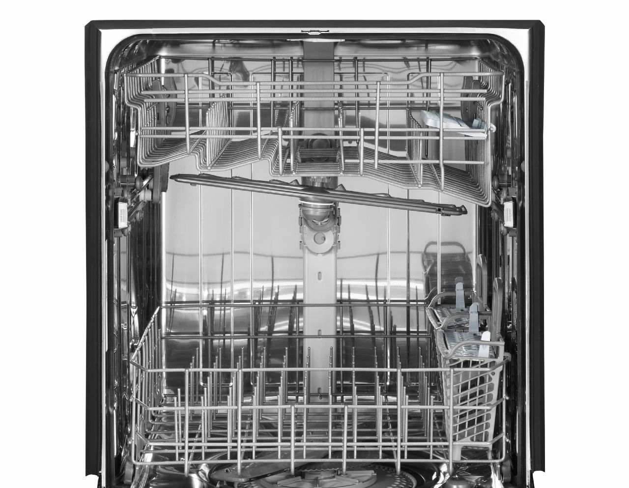 "Maytag 24"" Jetclean® Plus Dishwasher w/ Stainless Steel Tub - Black"
