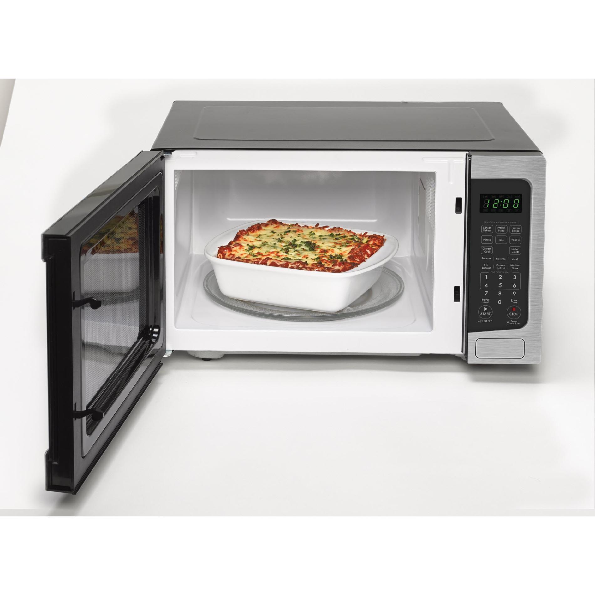 Kenmore 73163 1.6 cu. ft. Countertop Microwave - Stainless Steel