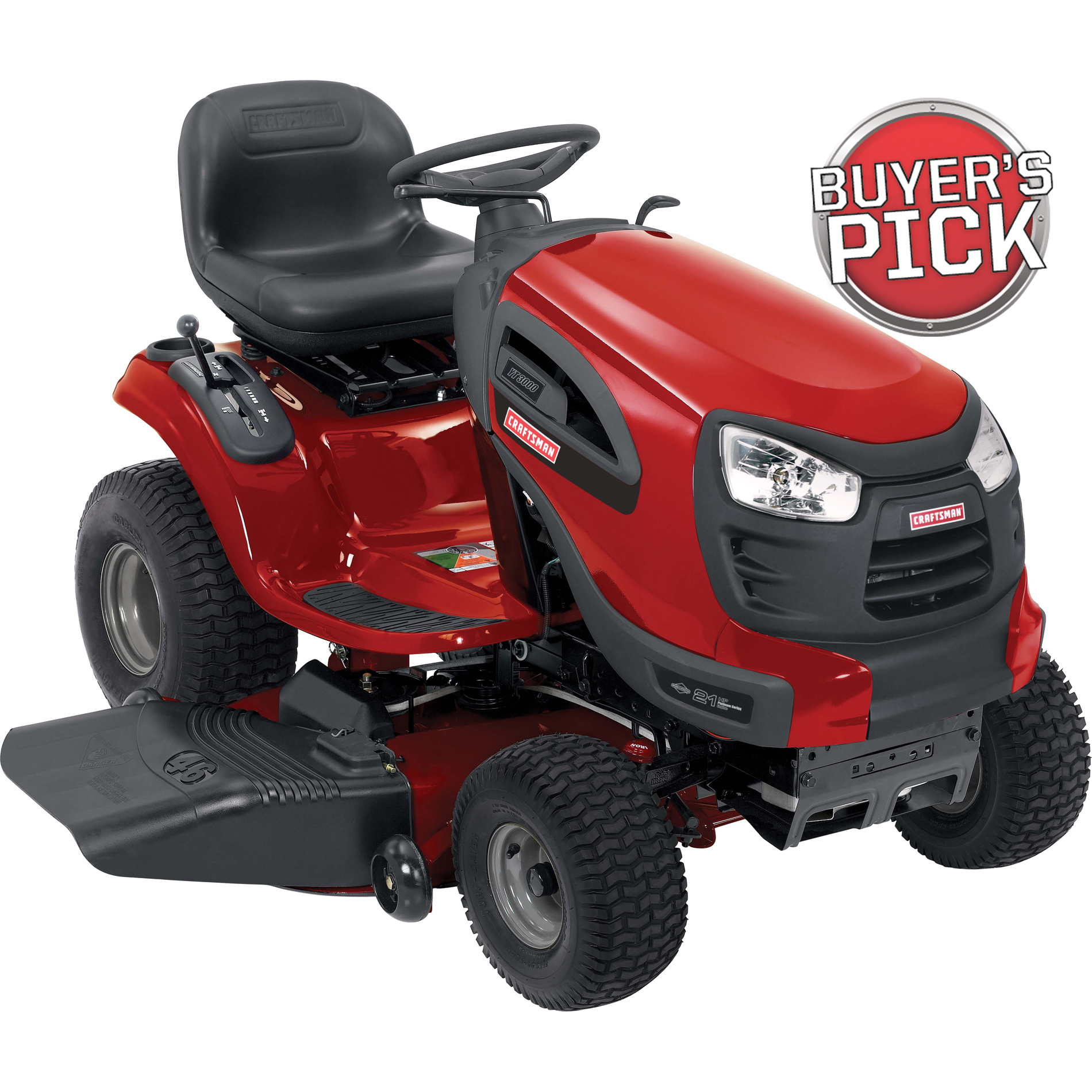 "Craftsman 46"" 21hp Briggs & Stratton Turn Tight™ Hydrostatic Yard Tractor CA Only"