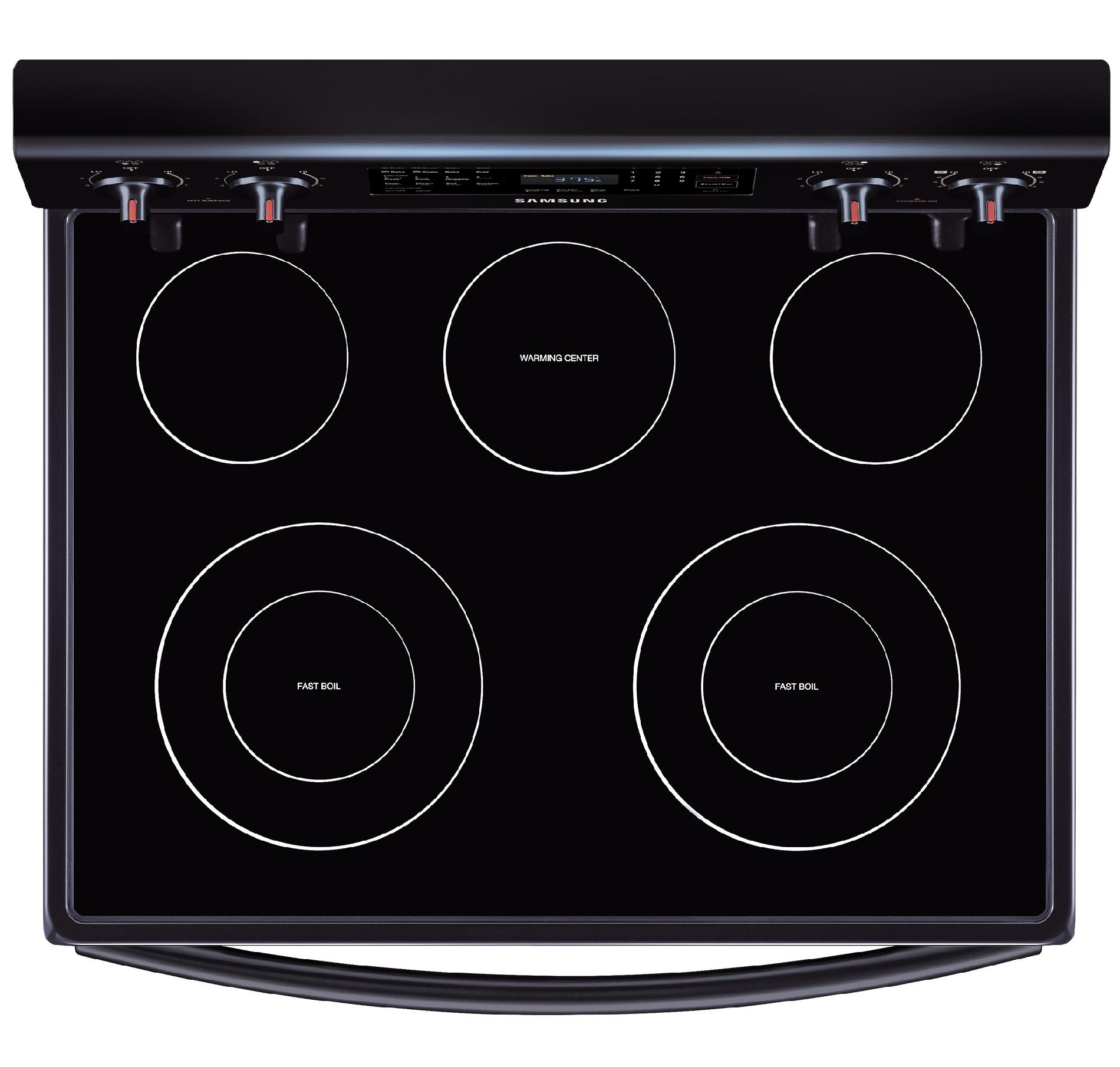 Samsung 5.9 cu. ft. Electric Range w/Convection - Black