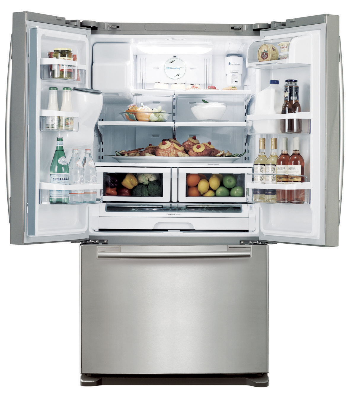 Samsung 26 cu. ft. French Door Refrigerator - Stainless Platinum