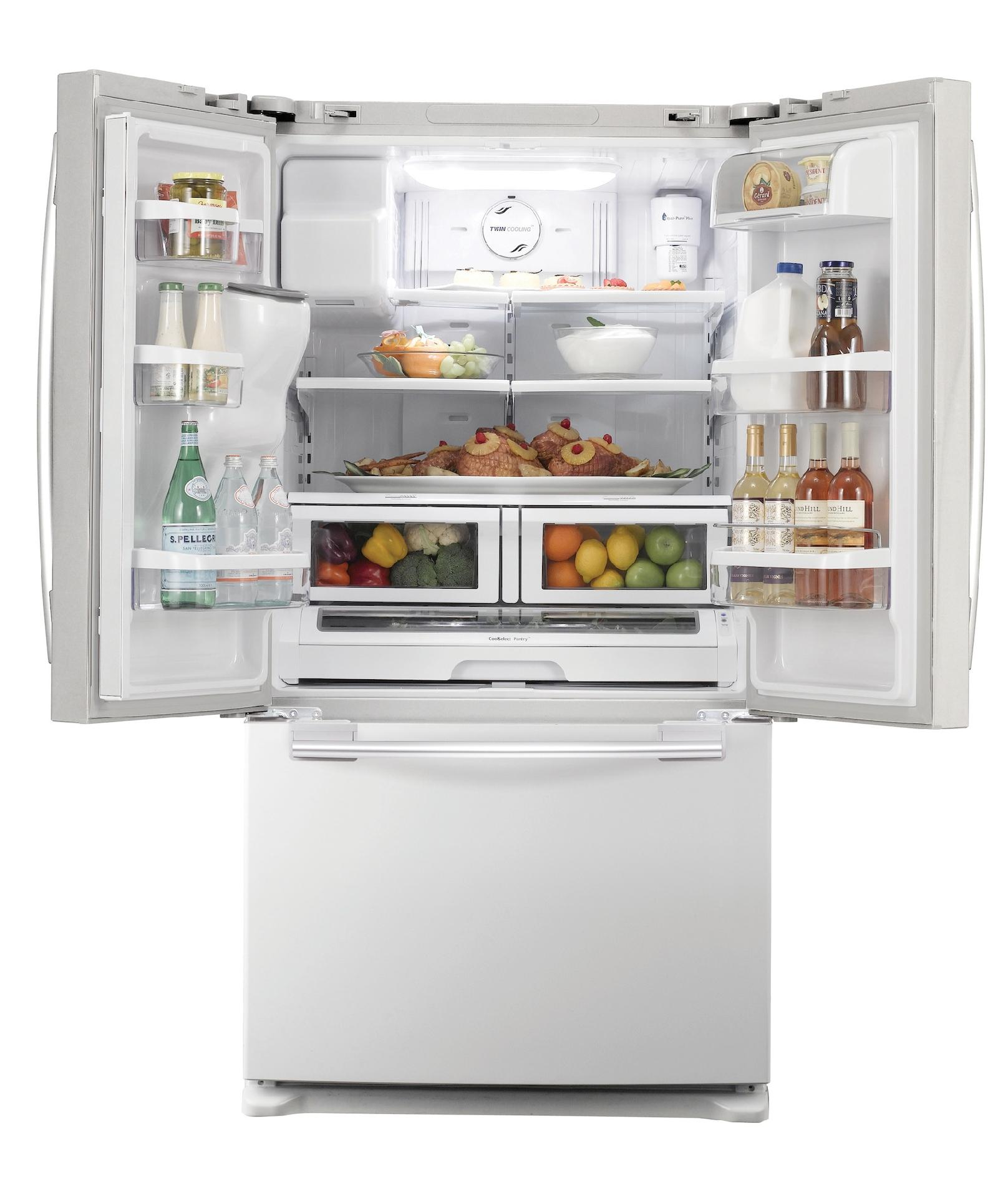 Samsung 26 cu. ft. French Door Refrigerator - White