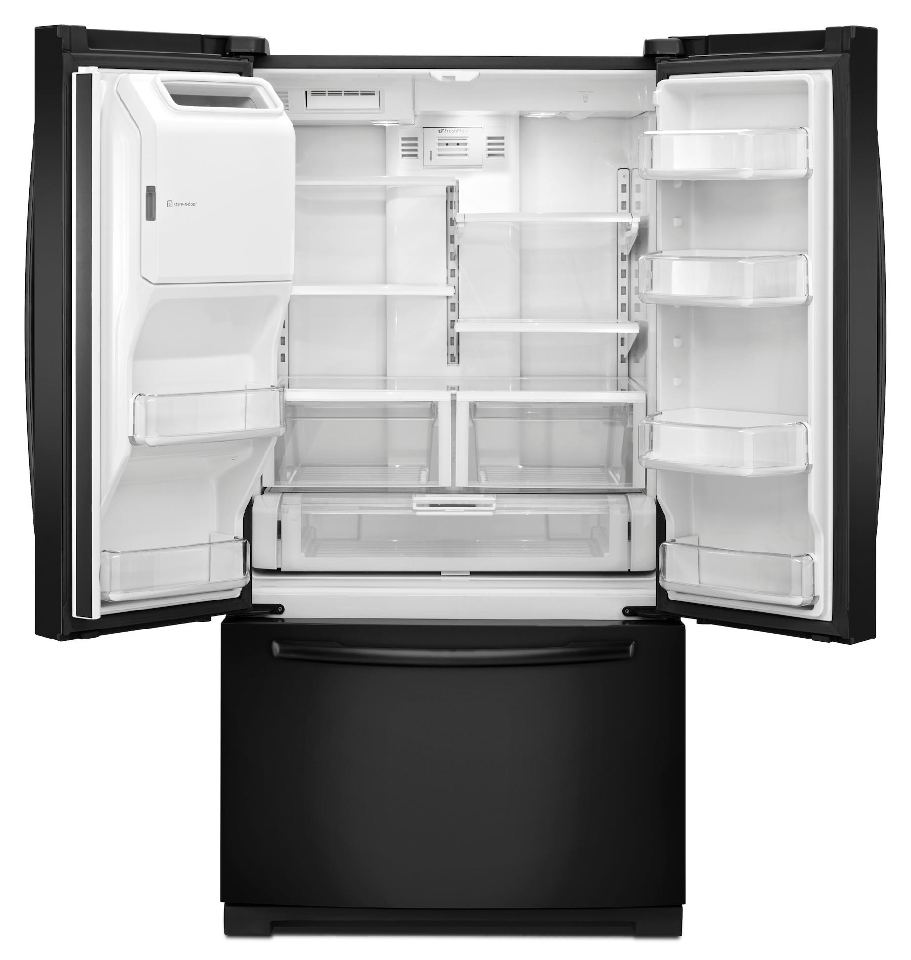 Maytag 26.1 cu. ft. French-Door Refrigerator w/ 2X Life Compressor - Black
