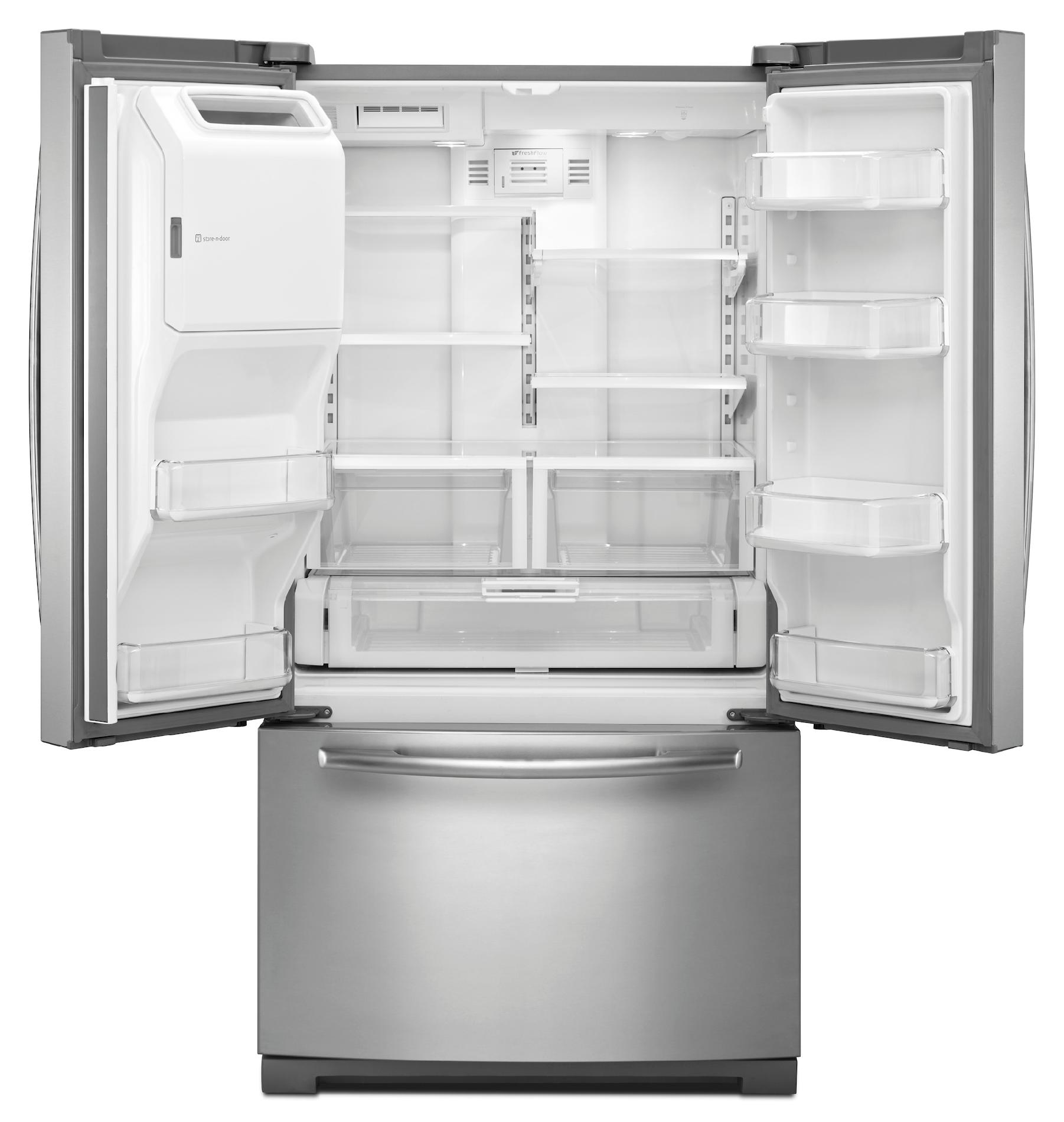 Maytag 26.1 cu. ft. French-Door Refrigerator w/ 2X Life Compressor - Stainless Steel