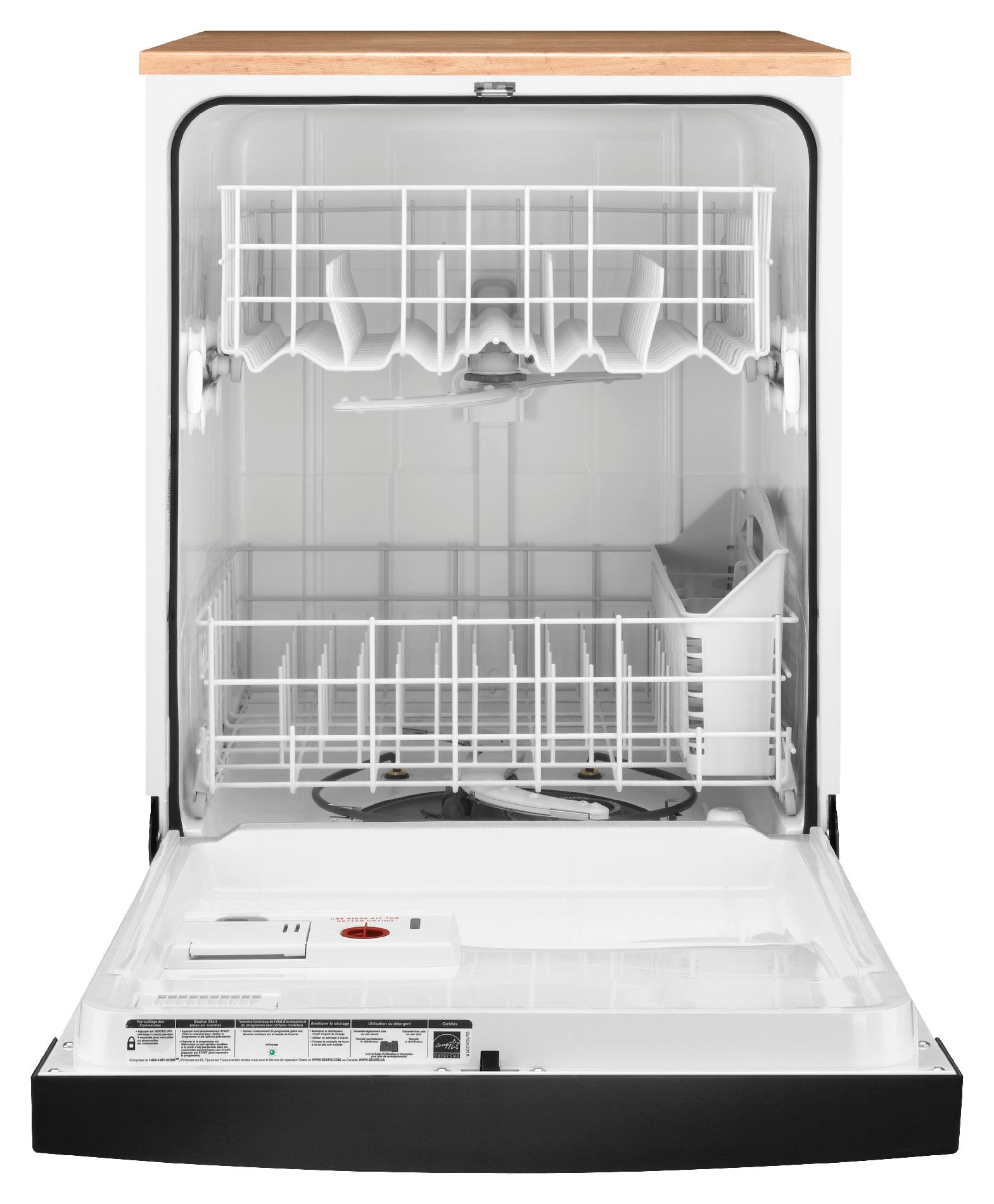 "Kenmore 24"" Portable Dishwasher - Black"