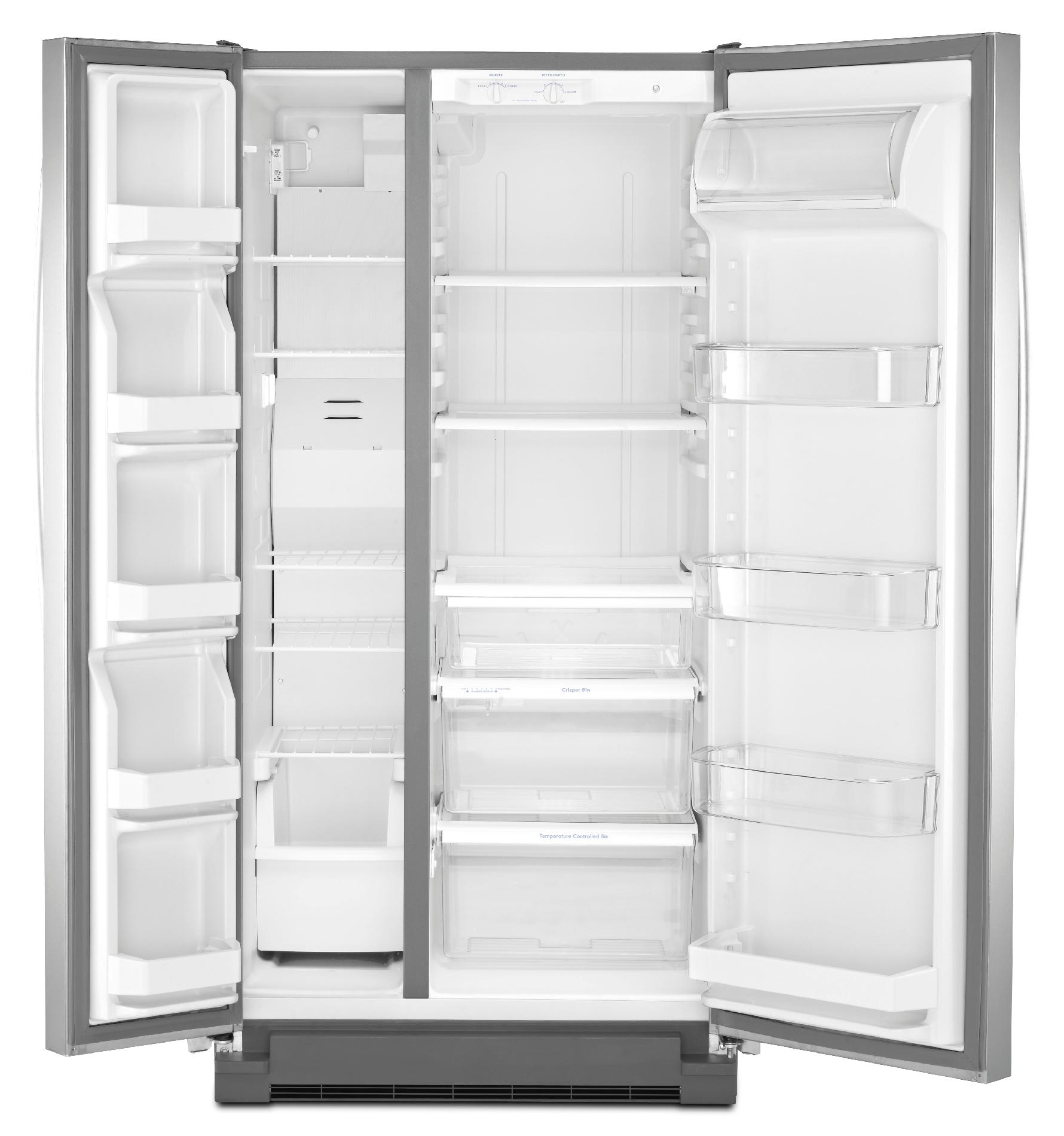 Kenmore 21.7 cu. ft. Side-by-Side Refrigerator - Stainless Steel