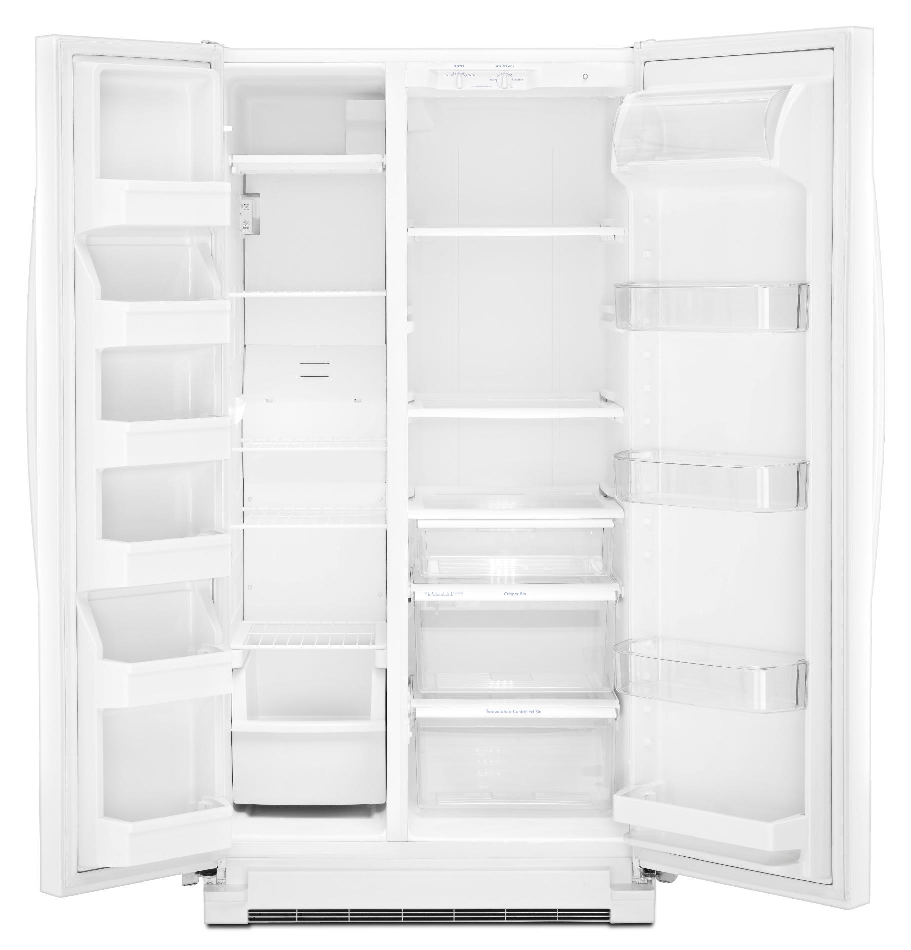 Kenmore 25.2 cu. ft. Side-by-Side Refrigerator - White