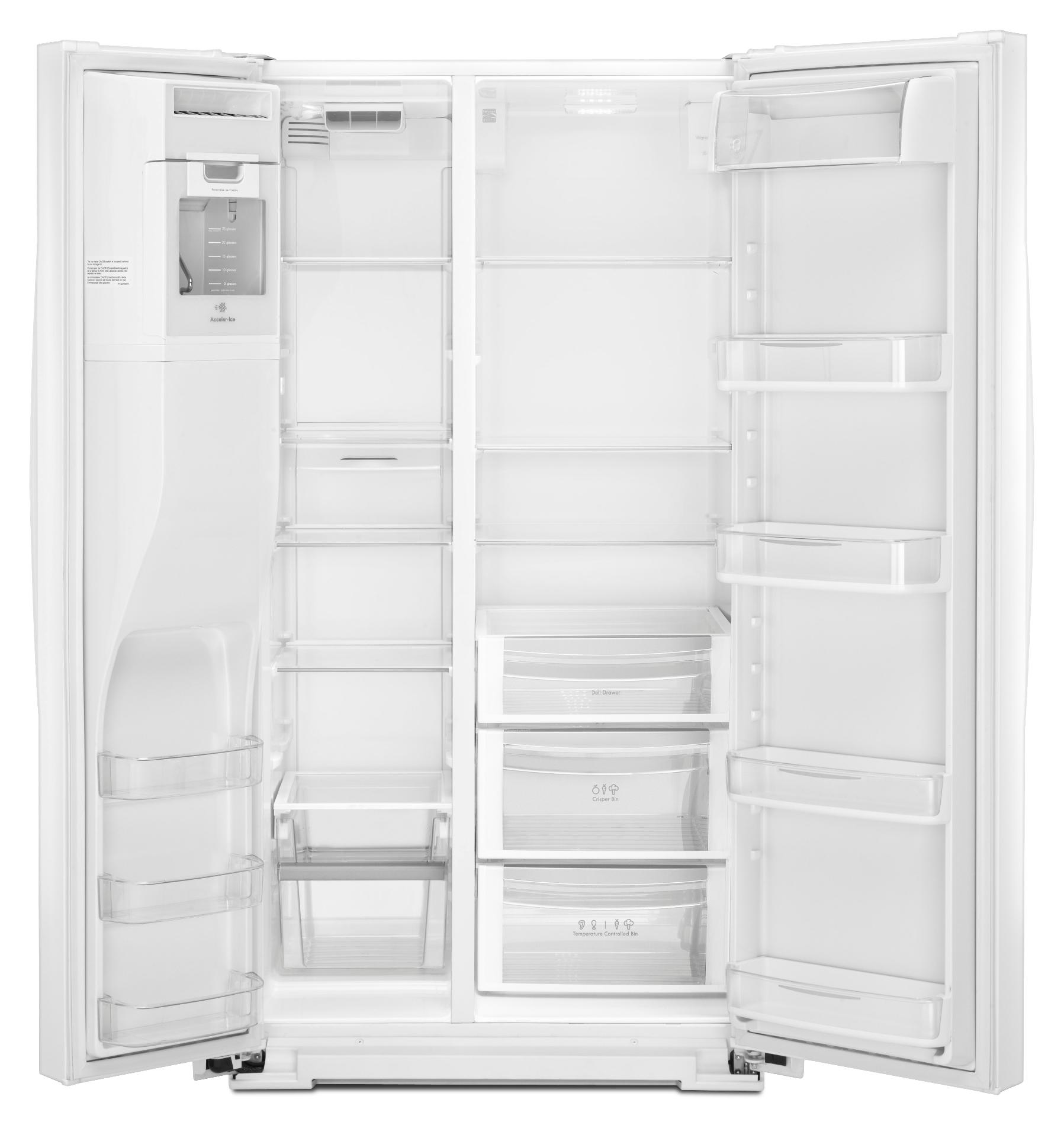 Kenmore Elite 26 cu. ft. Side-by-Side Refrigerator - White
