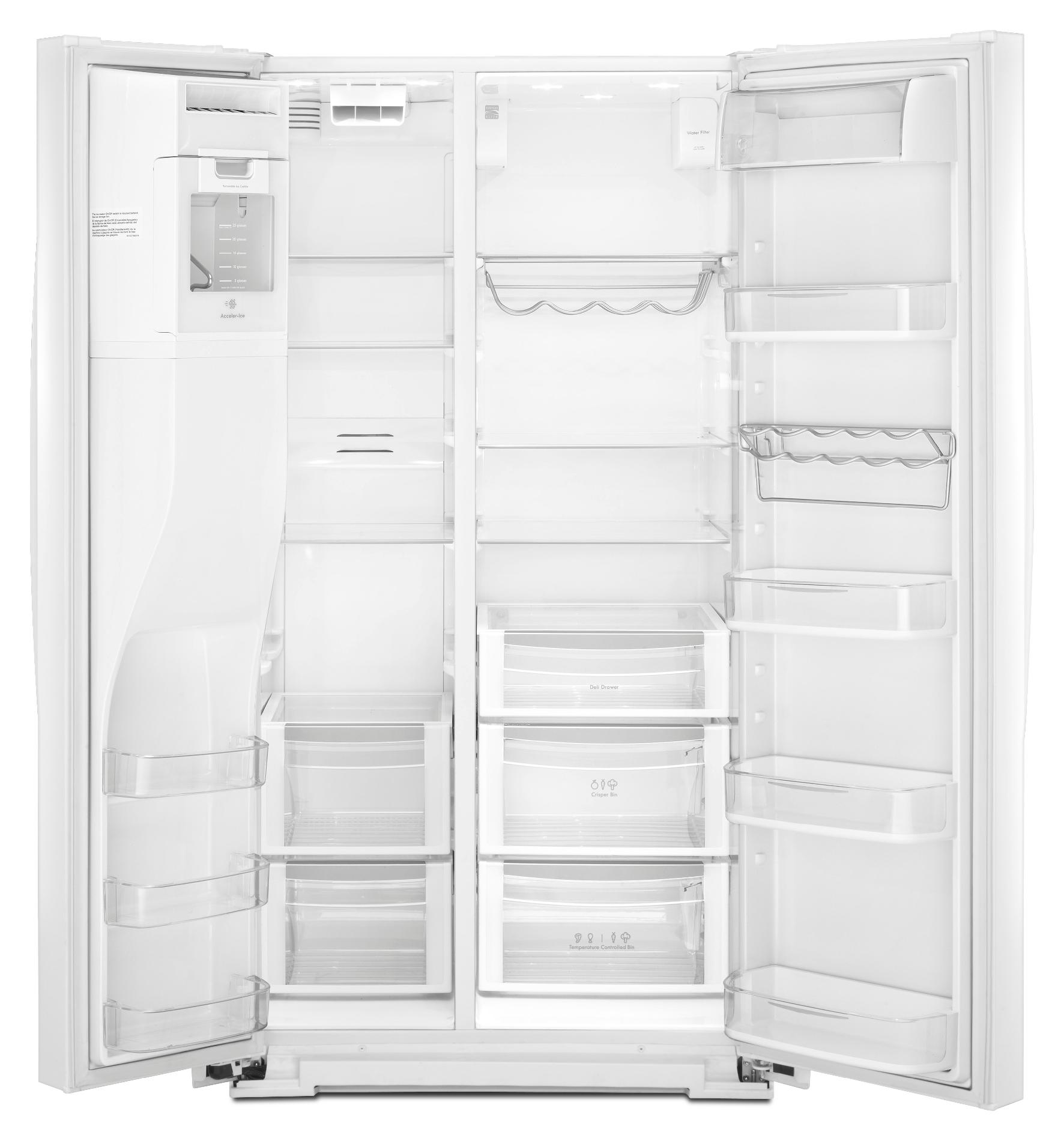 Kenmore Elite 29.8 cu. ft. Side-by-Side Refrigerator - White