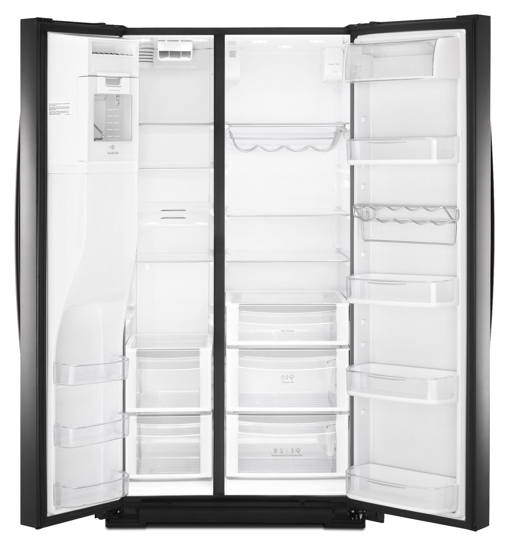 Kenmore Elite 29.8 cu. ft. Side-by-Side Refrigerator - Black