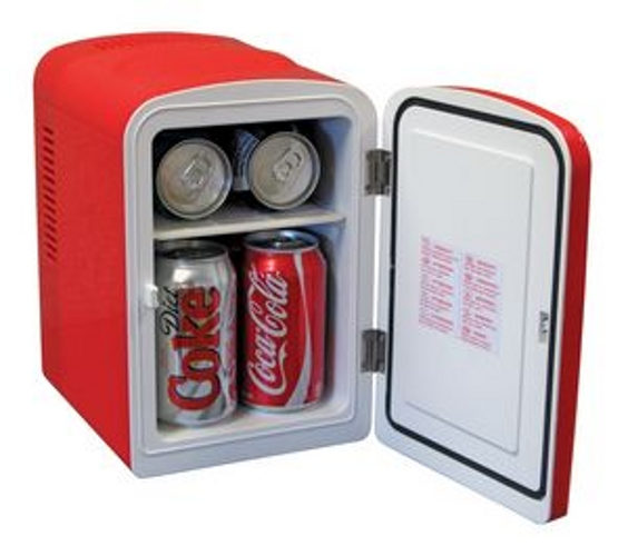Coca Cola Personal Fridge Compact Refrigerator (KWC4)