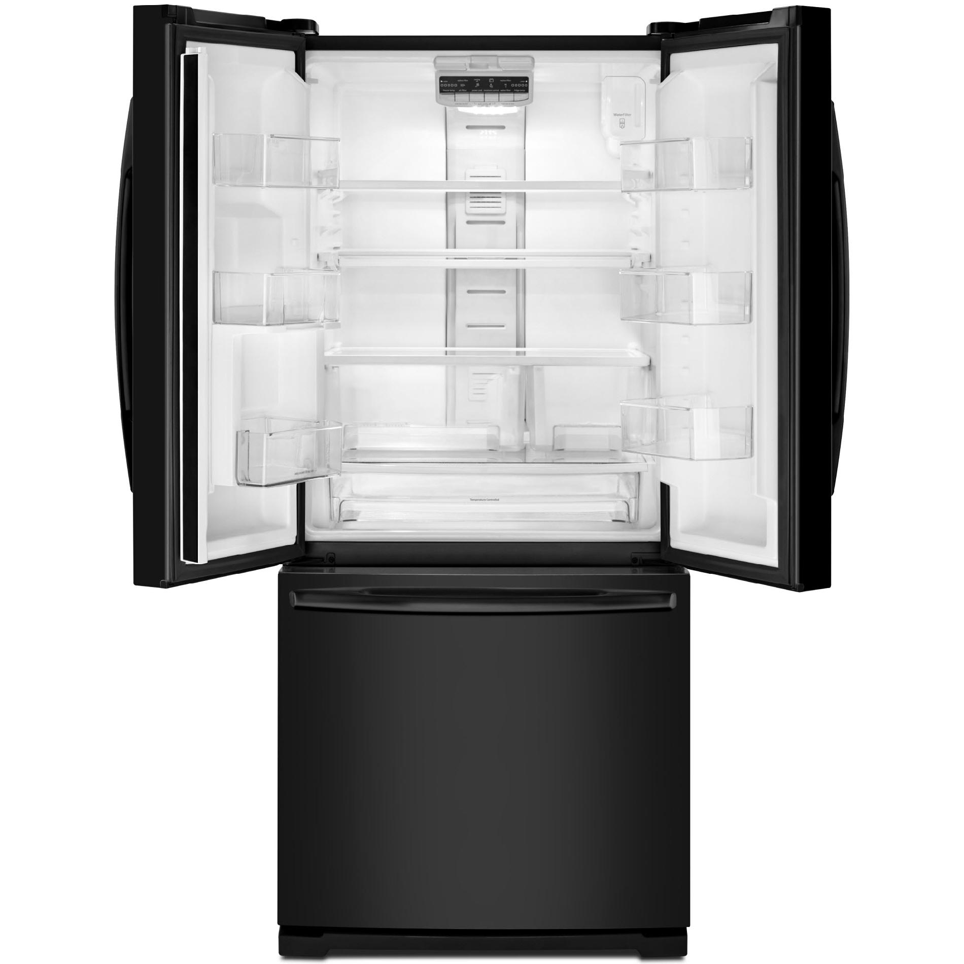 Maytag 20 cu. ft. French-Door Refrigerator w/ Strongbox™ Door Bins - Black