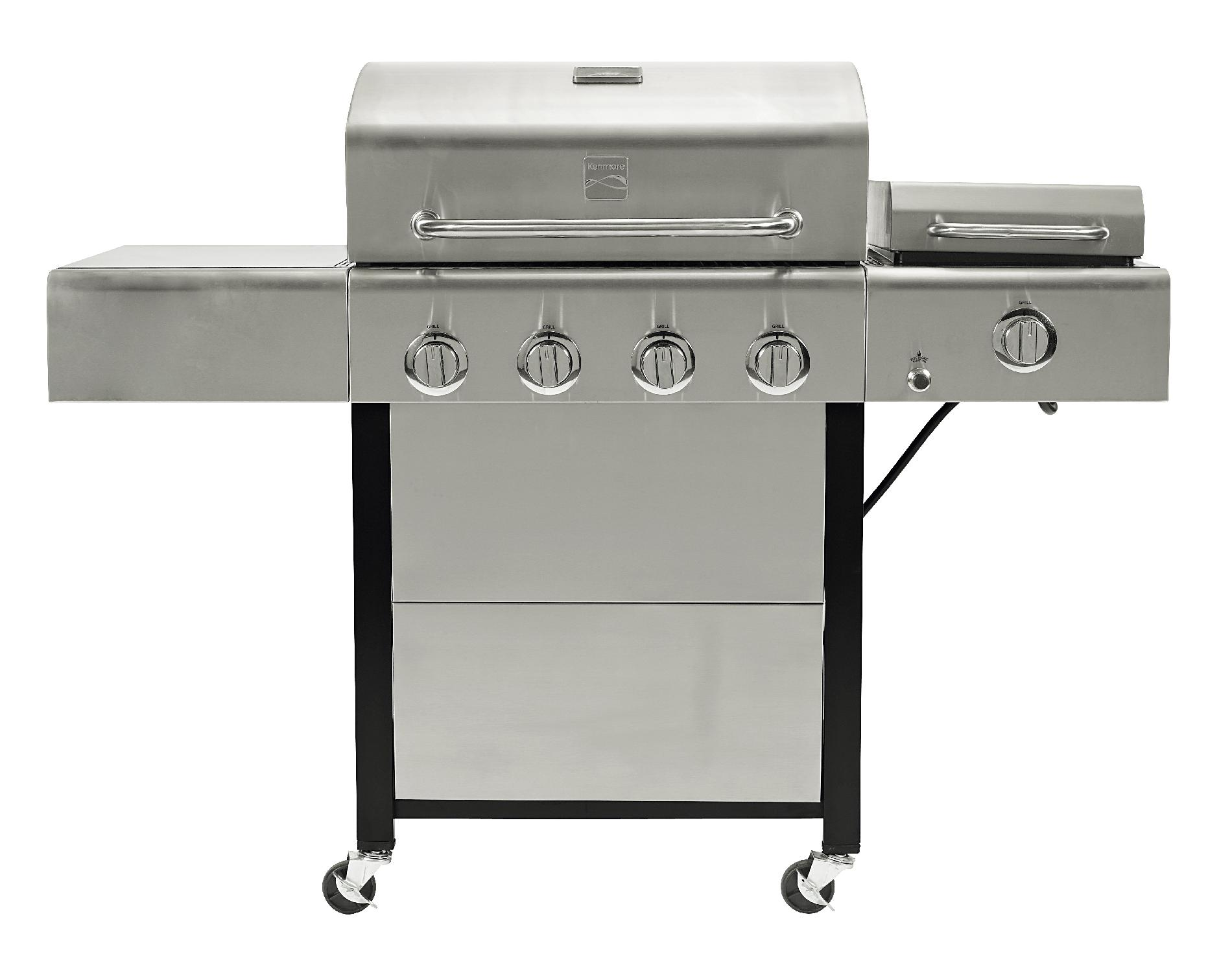 Kenmore 4 Burner Gas Grill with Steamer* Limited Availability