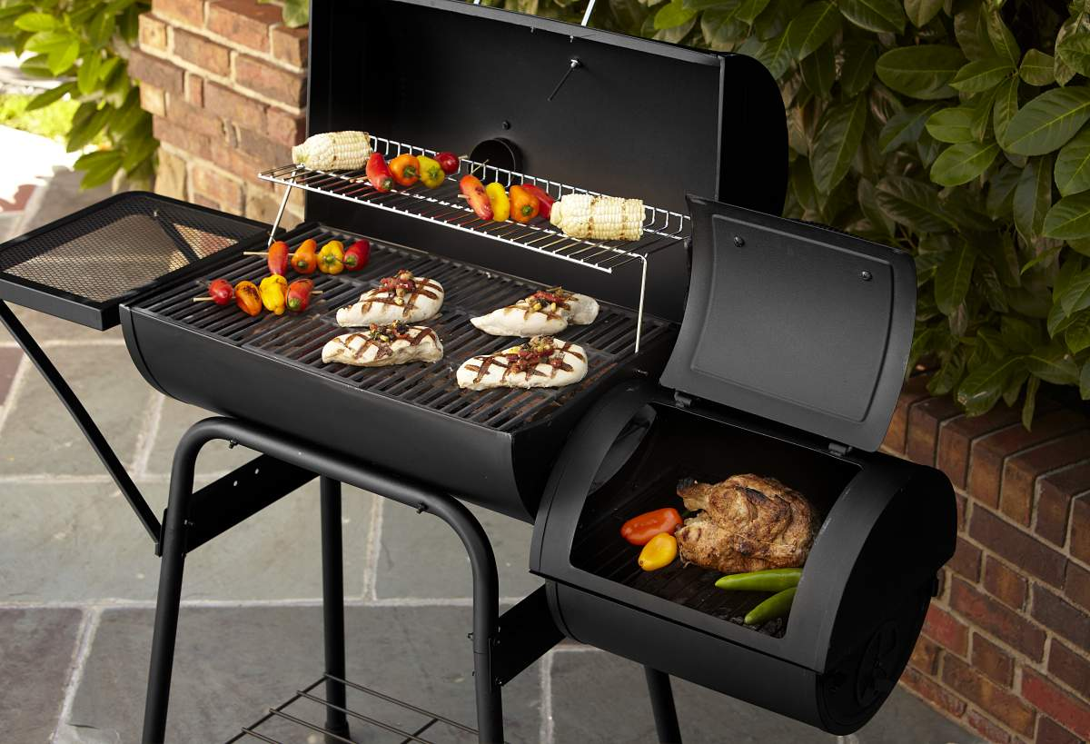 BBQ Pro Barrel Smoker with Offset Firebox *  Limited Availabiity