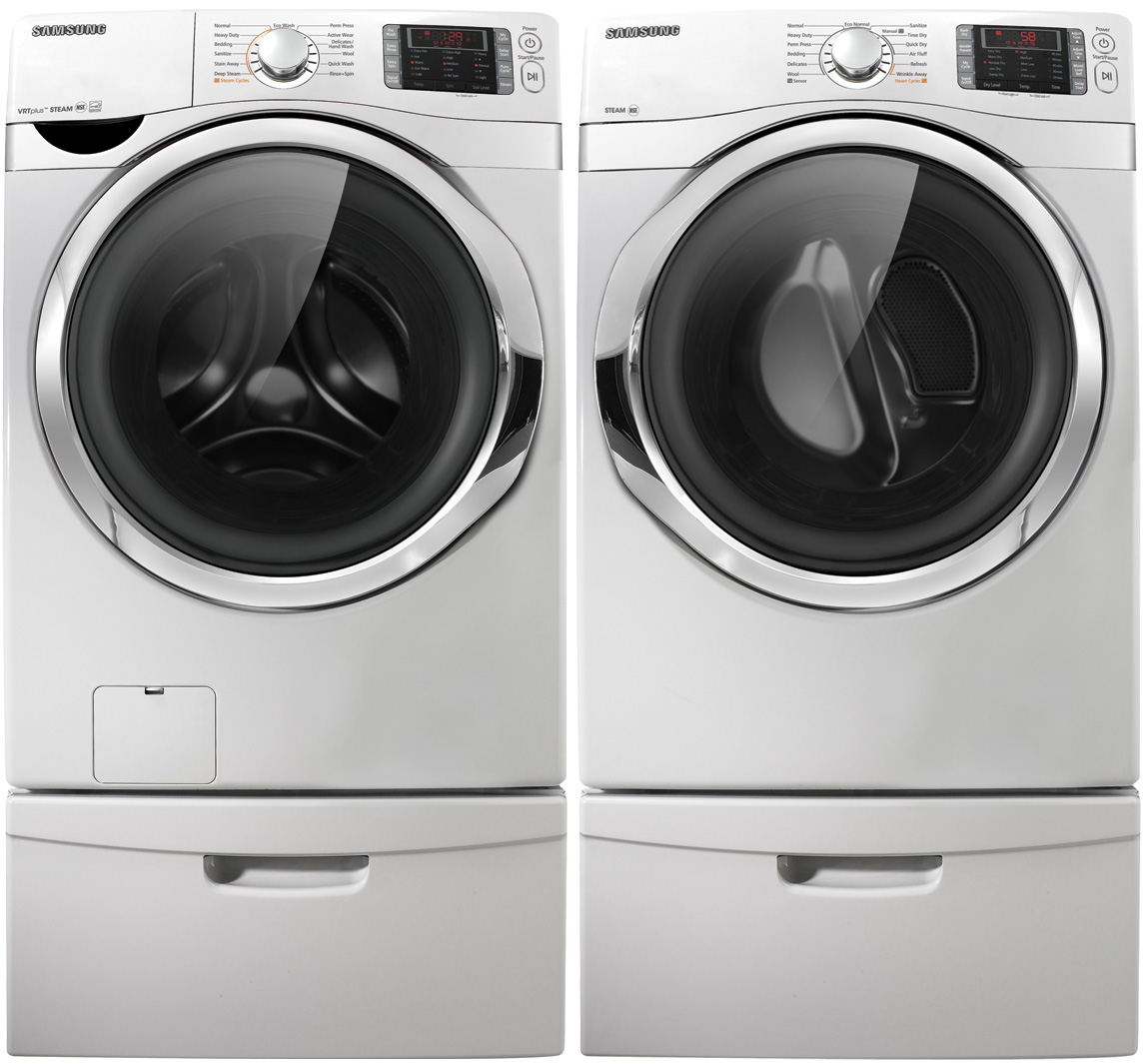 Samsung 4.3 cu. ft. High-Efficiency Front-Load Washer - White
