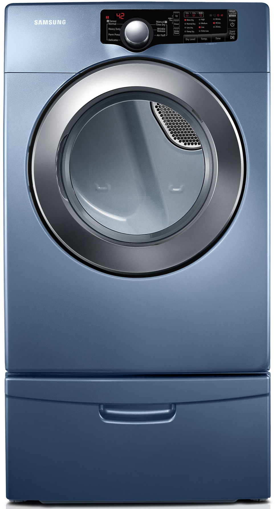 Samsung 7.3 cu ft. Electric Dryer - Blue