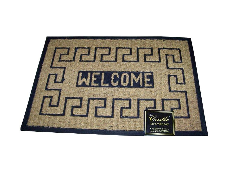 Coir Chateau Design Doormat