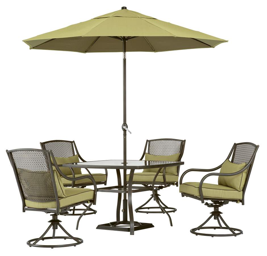 Garden Oasis Bowery 5pc Dining Set*