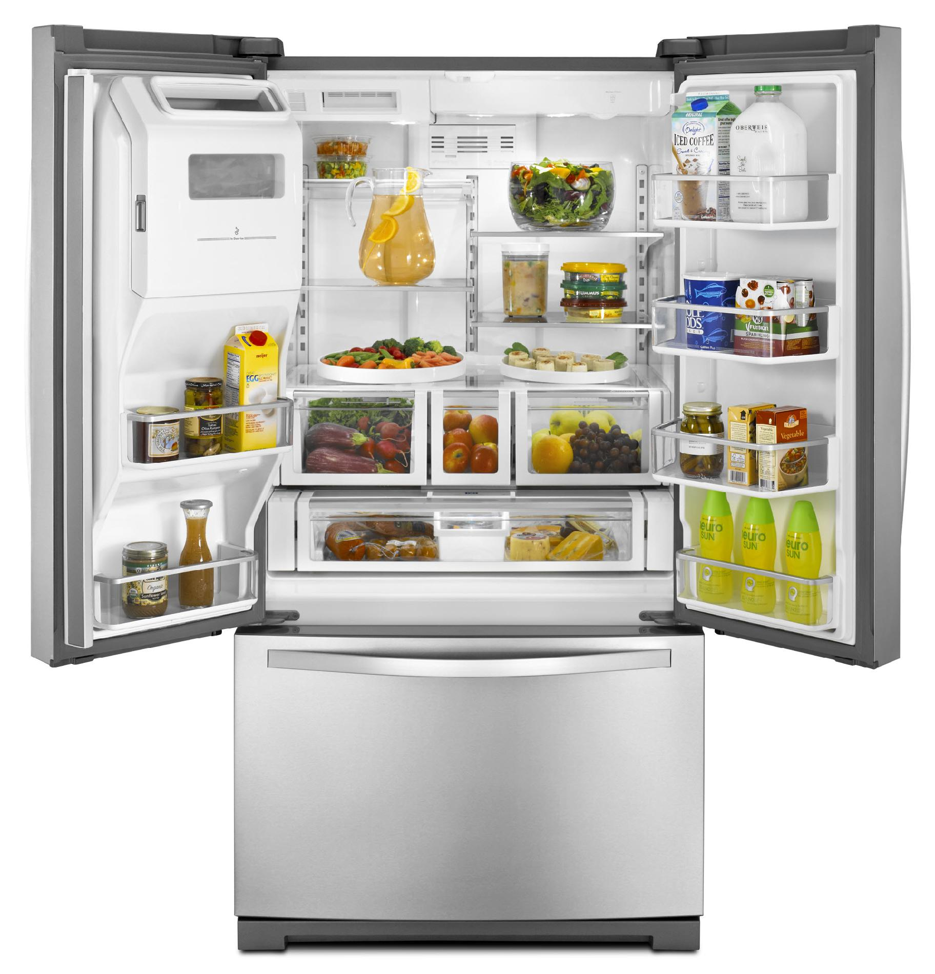 Whirlpool 28.6 cu. ft. French Door Refrigerator  - Stainless Steel