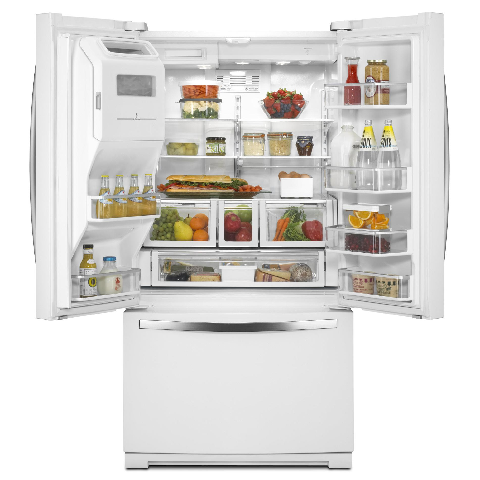 Whirlpool 27 cu. ft. French Door Refrigerator  - White