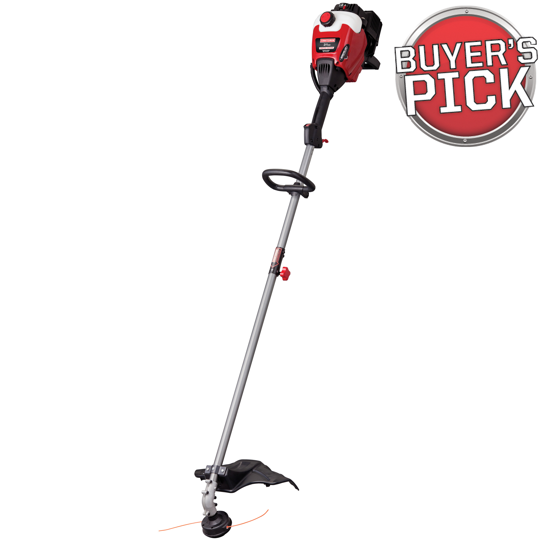 Craftsman 31cc* 2-Cycle Straight Shaft WeedWacker™ Gas Trimmer