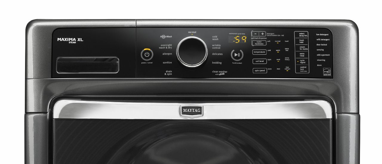 Maytag 4.3 cu. ft. Maxima™ Front-Load  Washer - Granite