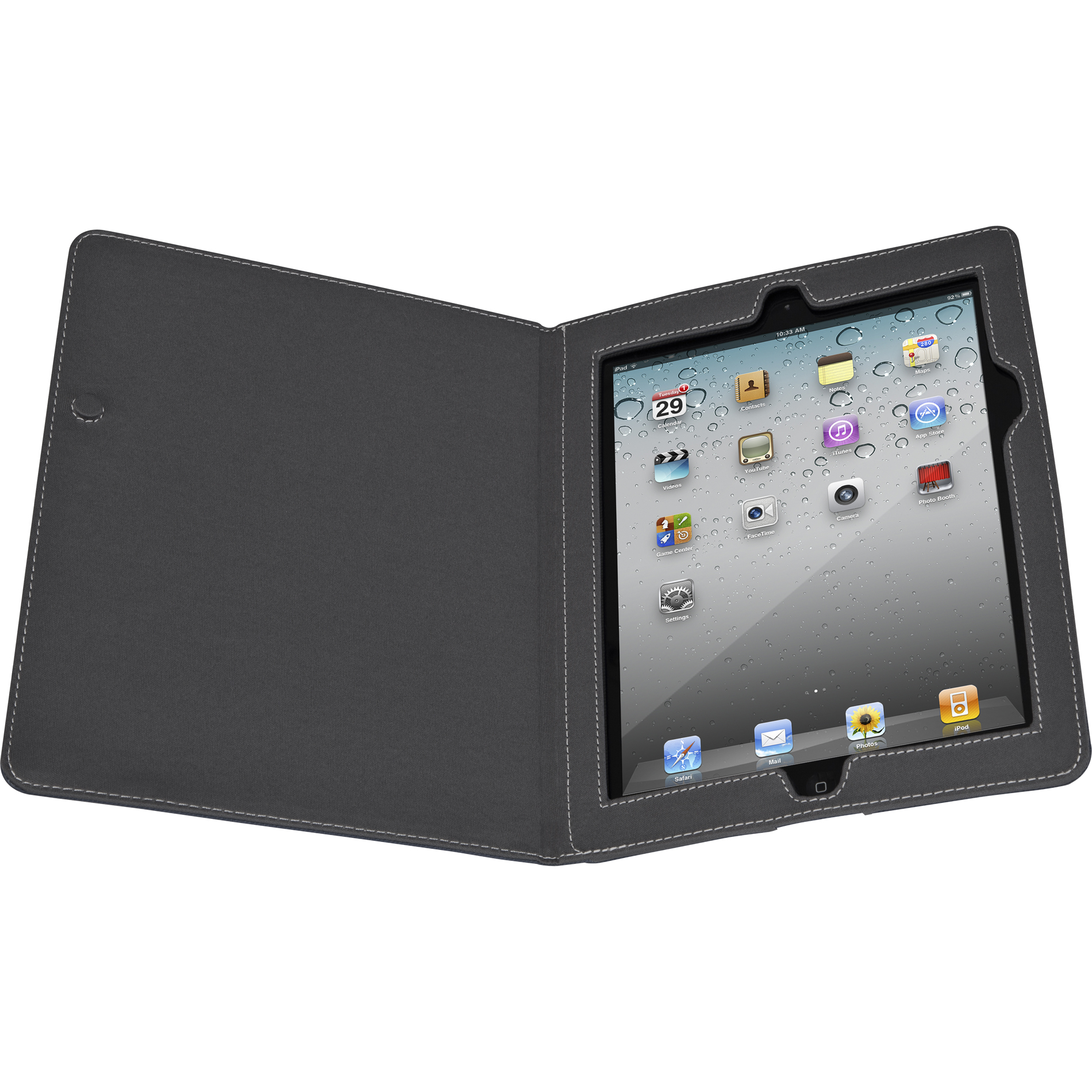 Targus Simply Basic Black Cover iPad® 3 & 4  THZ158US