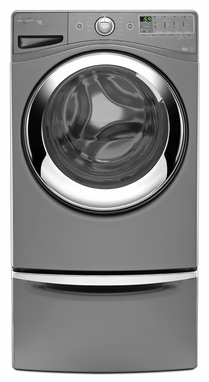 Whirlpool 4.1 cu. ft. Front-load Washer w/ Deep Clean Steam - Chrome Shadow