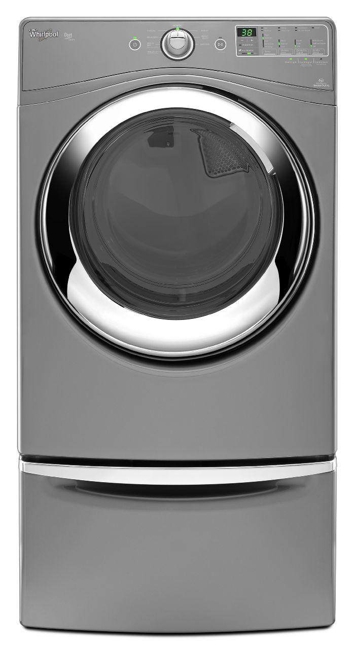 Whirlpool 7.4 cu. ft. Gas Dryer w/ Steam Refresh - Chrome Shadow
