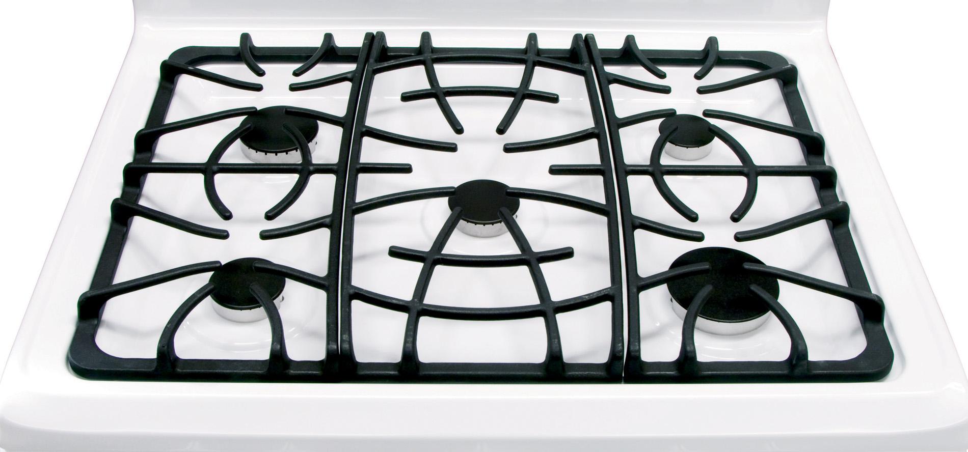 Frigidaire 5.0 cu. ft. Freestanding Gas Range  - White