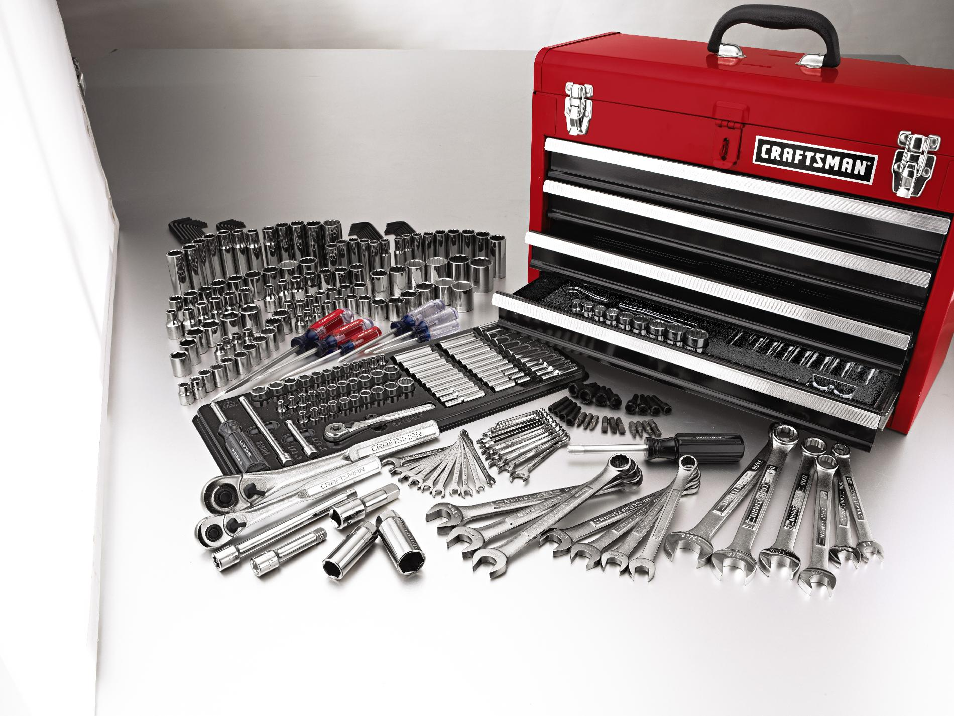 Craftsman 283-Piece Mechanics Tool Set with Tool Box