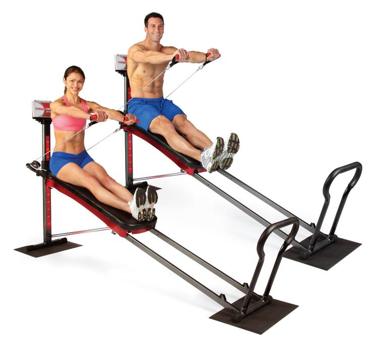 Total Fitness Total Gym 1900 Exercise System for Toning and Strengthening