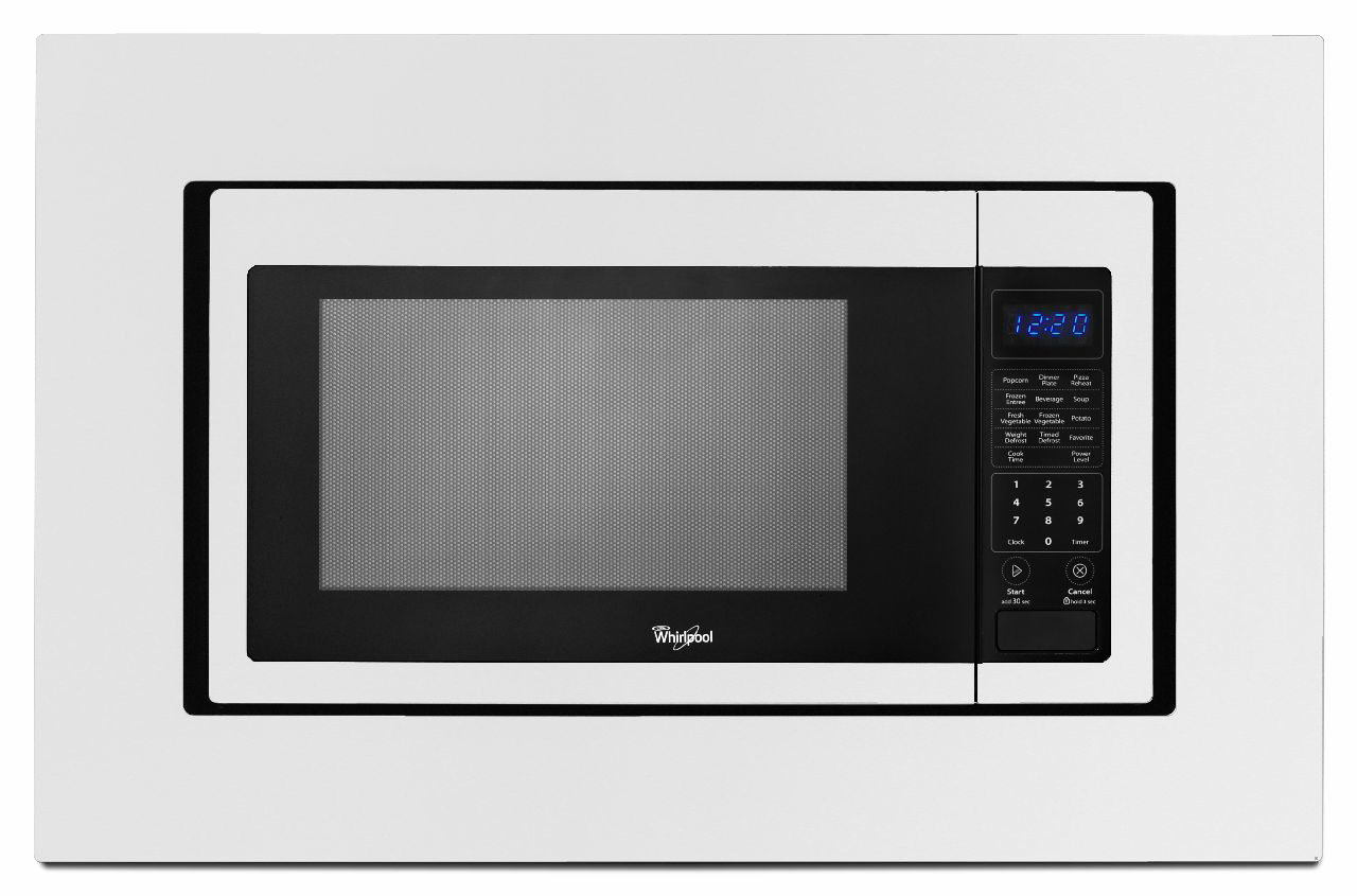 "Whirlpool MK2167AW 27"" Countertop Microwave Trim Kit - White"
