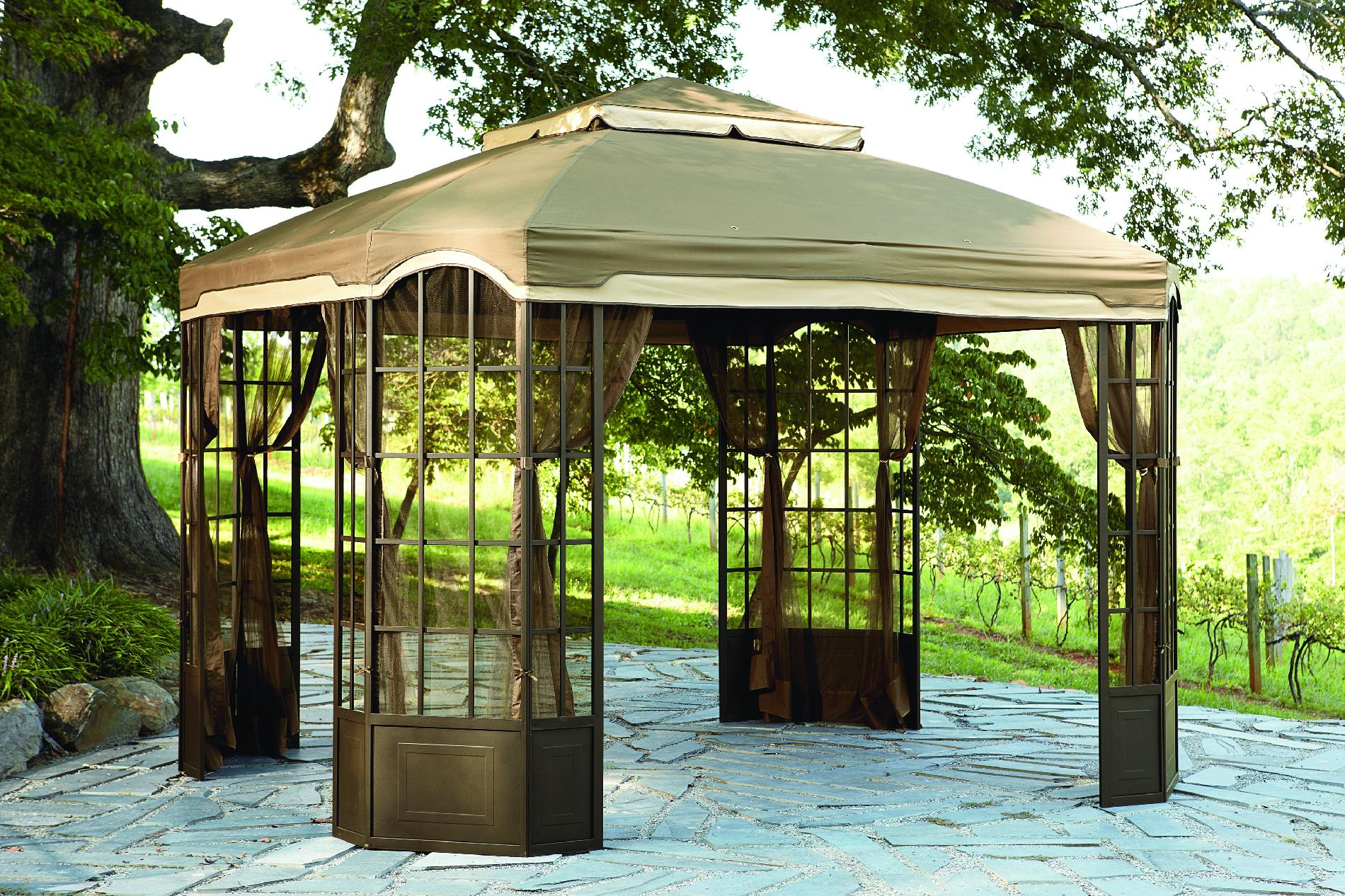 Garden Oasis Bay Window Gazebo*