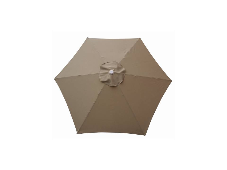 9ft Market Umbrella Taupe