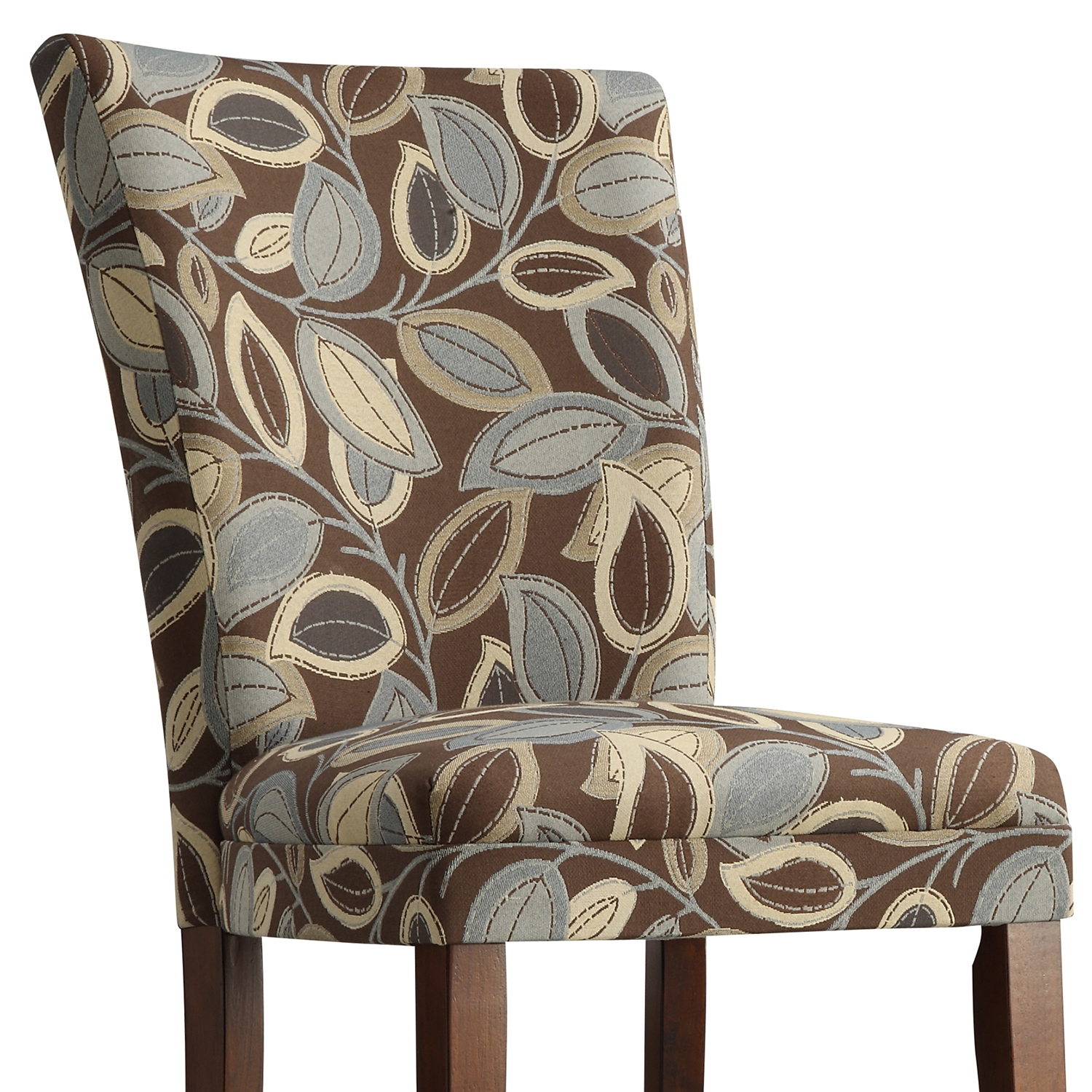 Oxford Creek Leaves Print Dining Chairs (Set of 2)