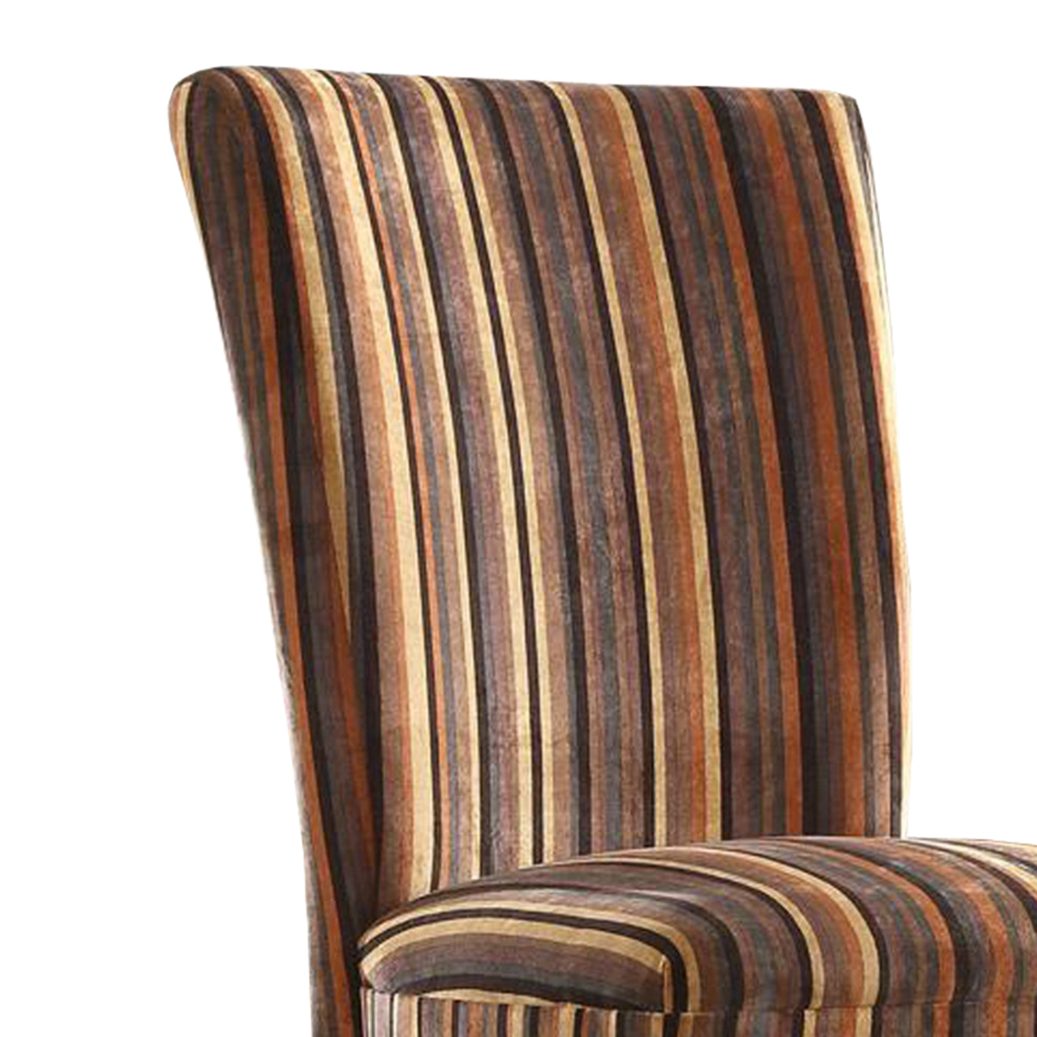 Oxford Creek Stripe Print Dining Chairs (Set of 2)