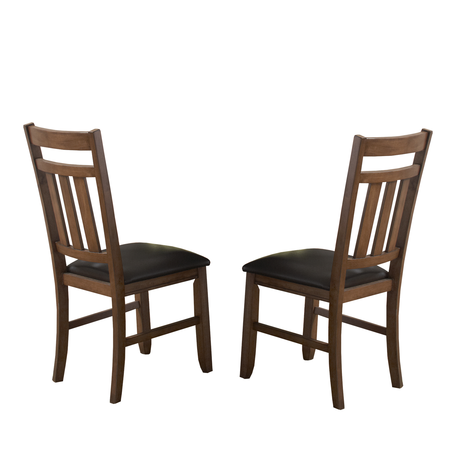 Oxford Creek Dining Chairs in Warm Oak Finish (Set of 2)