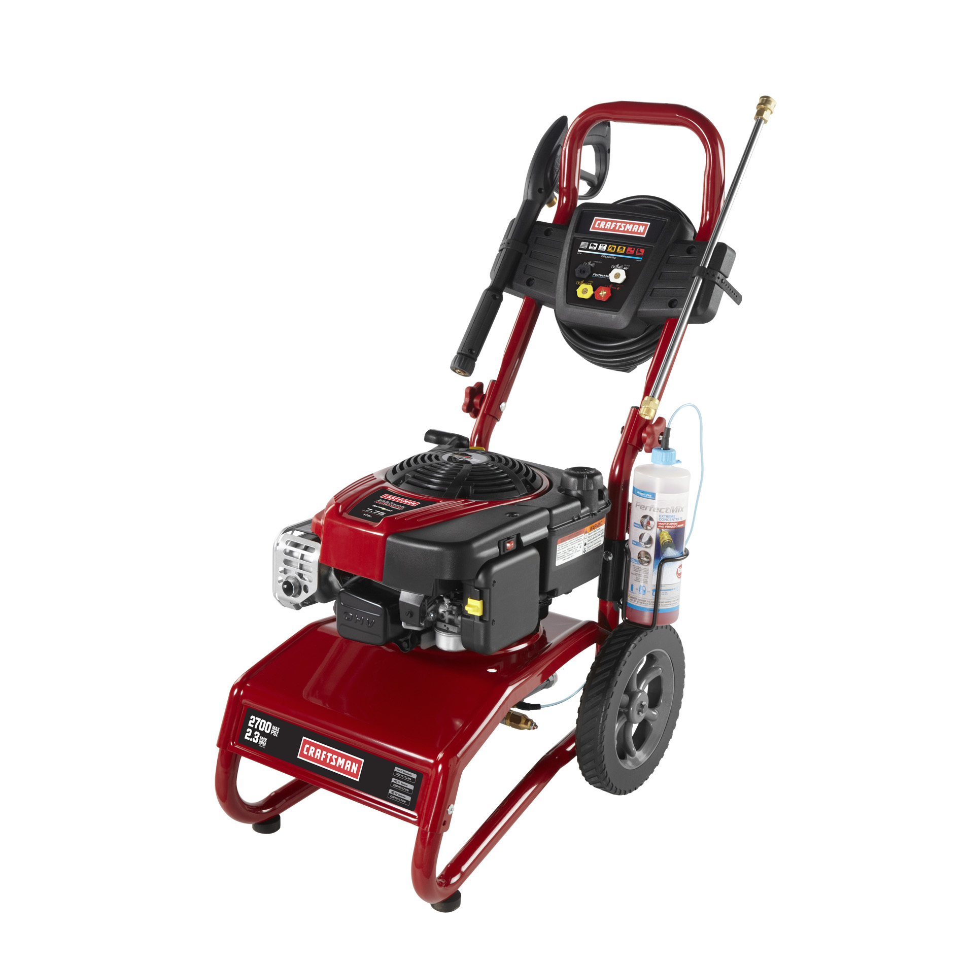 Craftsman 2700 PSI 2.3 GPM 4-Cycle Gas Powered Pressure Washer