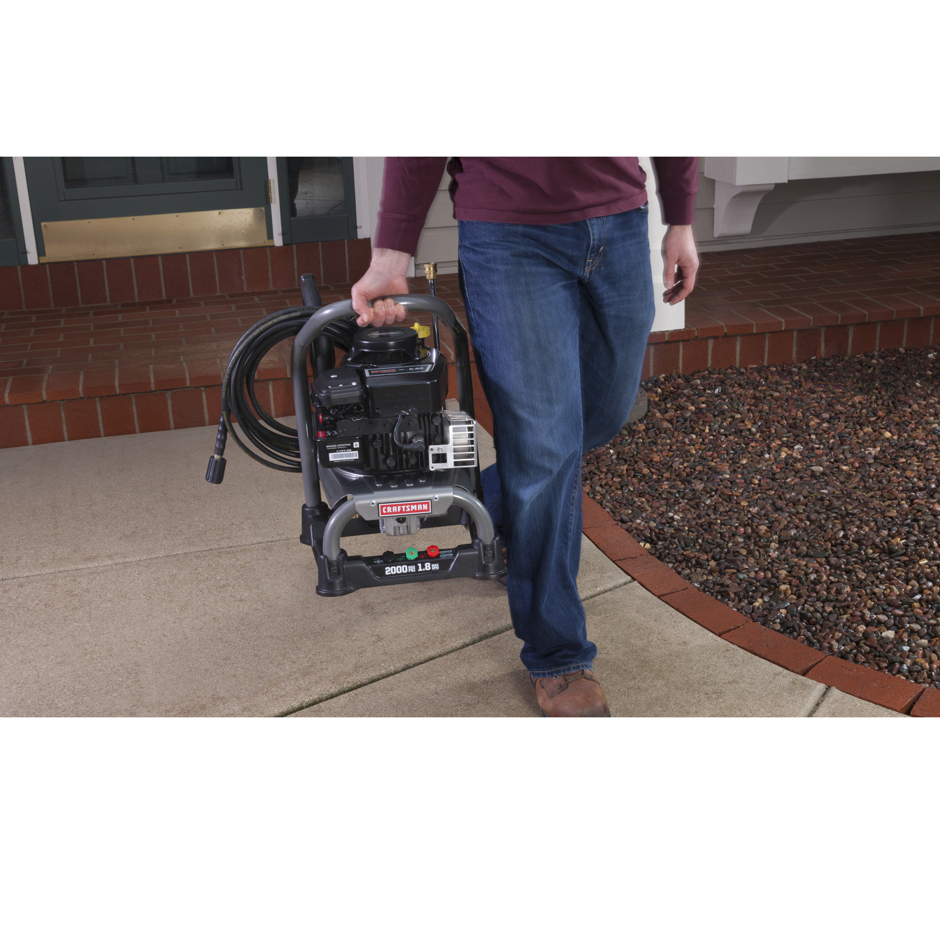 Craftsman Clean 'N Carry™ 2,000 PSI 1.8 GPM Gas Pressure Washer
