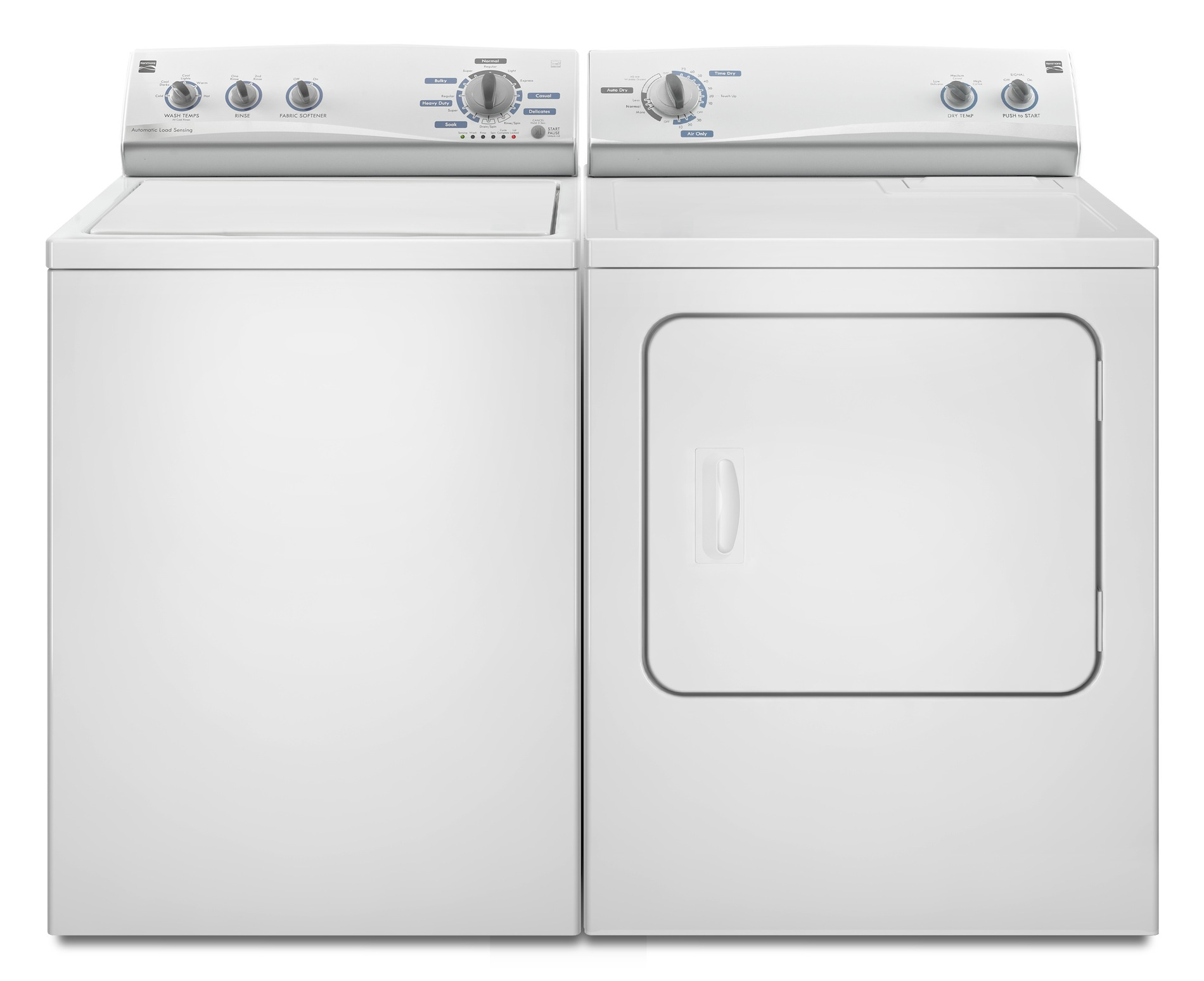 Kenmore 7.0 cu. ft. Gas Dryer w/ Wrinkle Guard® - White