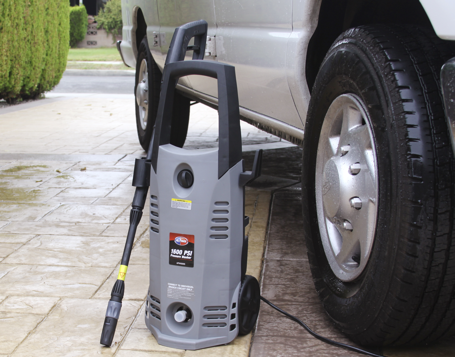 All Power America 1600psi 1.6GPM Electric Pressure Washer (Non CA)